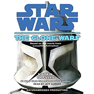Star Wars: The Clone Wars audiobook cover art