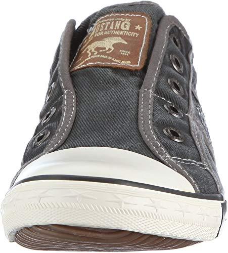 Mustang Damen 1099-401 Sneakers - Grau (2 grau) , 37 EU