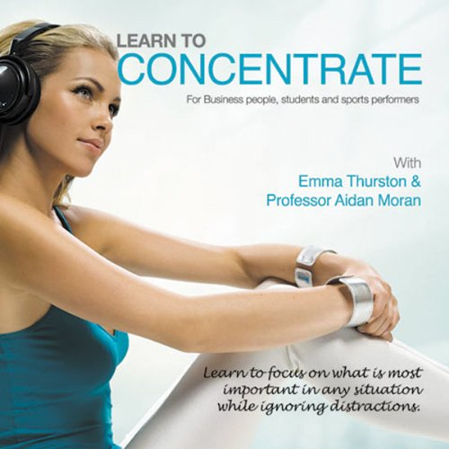 Learn to Concentrate audiobook cover art