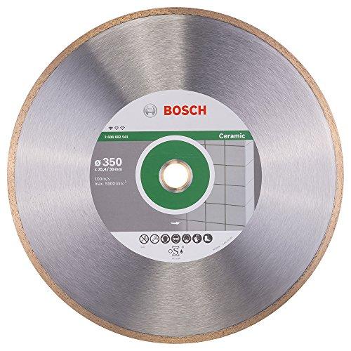Bosch Professional Diamanttrennscheibe Standard für Ceramic, 350 x 30 und 25,40 x 2 x 7 mm, 2608602541