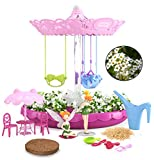 Fairy Garden Kit for Kids with Fairies - Grow Your Own First Magic Garden Indoor & Outdoor - Gardening DIY...