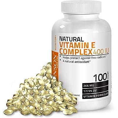 Bronson Natural Vitamin E Complex 400 I.U. (D-Alpha Tocopherol)