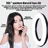 Bague de Maquillage de Bureau Light LED Selfie Lumière avec Porte-téléphone USB Powered Dimmable...