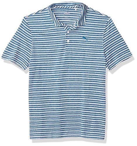 PUMA Jungen Golf 2020 Links Polo, Jungen, Polo, Golf 2020 Boy's Links Polo, Digi-Blue, Large