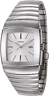 Rado Sintra Hi-Tech Ceramic Quartz Sunburst Silver Dial Men's Watch Calendar R13719122