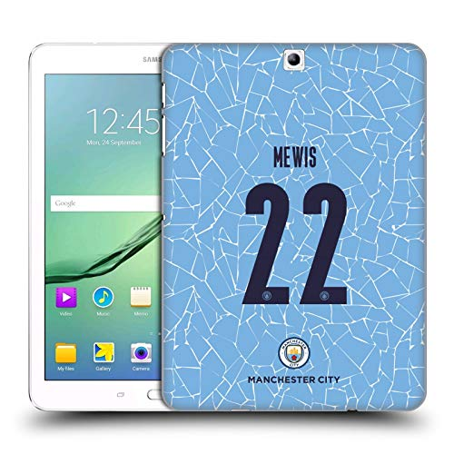 Official Manchester City Man City FC Sam Mewis 2020/21 Women's Home Kit Group 1 Hard Back Case Compatible for Samsung Galaxy Tab S2 9.7