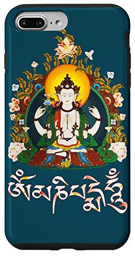 iPhone 7 Plus/8 Plus Tibetan Buddha Om Mani Padme Hum Amitabha Case