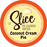 Slice Flavored Coffee, Coconut Cream Pie for Keurig K Cup Brewers, 40Count