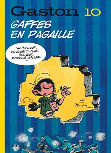 Gaston (Edition 2018) - Tome 10 - Gaffes en pagaille