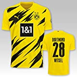 PUMA BVB Heimtrikot Erwachsen Saison 2020/21, Größe:XL, Spielername:28 Witsel