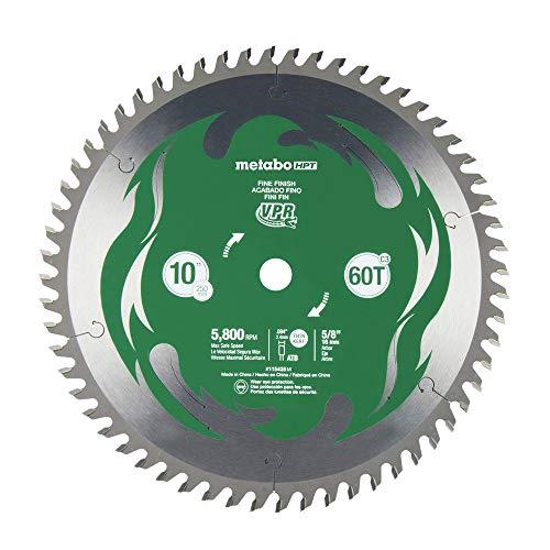 Metabo HPT 115435M 10-Inch Miter Saw Blade