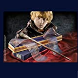 GXLO Wand de Ron con Caja de Cinta Dura, Cane de la Serie de 14'Harry Potter, Varita mágica de los Accesorios de Halloween y de Navidad