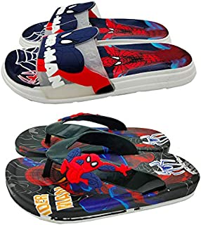 Mag Creations Kid's Flip-flops Slippers For Boys and Girls Combo (Set of 2) (1.5 Years to 7 Years)