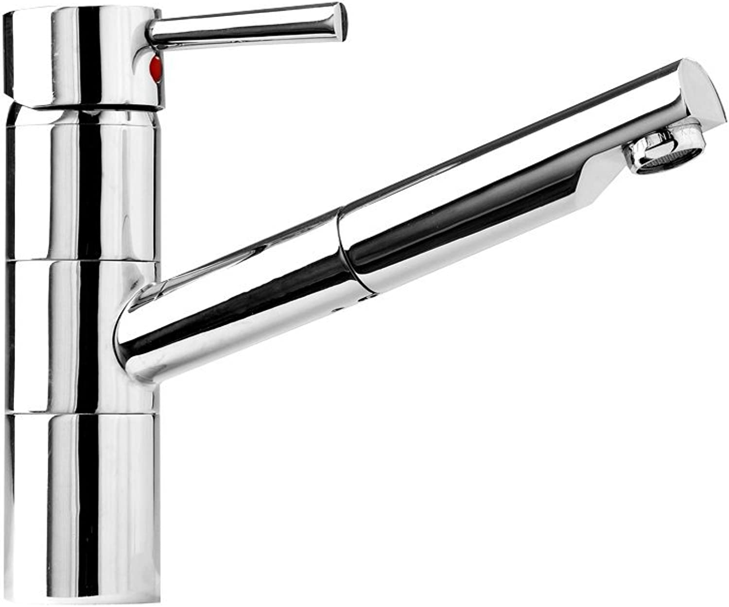 bluee Perl Unicorn 33770?Single-Lever Sink Tap with Pull-Out Spout Chrome