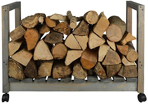 Buy Discount Esschert Design ng72 Wood Storage on Wheels