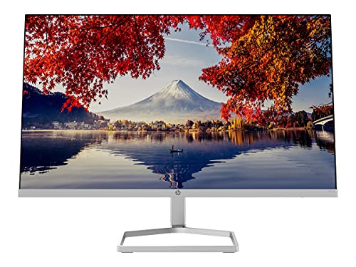 """HP M24f – Monitor de 24"""" Full HD (1920 x 1080, 75Hz, 5ms, IPS LED, 16:9, ADM FreeSync, HDMI, VGA, Antirreflejo, Low Blue Light, Inclinación Ajustable, Pasacables) Negro"""