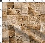 Kanada, Steampunk, Altmodisch, Zeitung, Sepia,