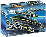 PLAYMOBIL Agentes Secretos 2 - Nave de Ataque Mega Masters, Set de Juego, Multicolor, 35 x 10 x...