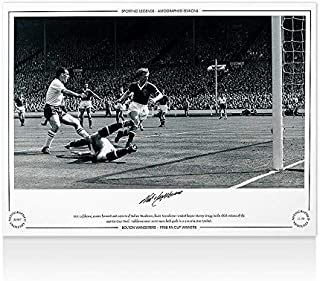 Signed Lofthouse Photo - 1958 FA Cup Winners - Autographed Soccer Photos