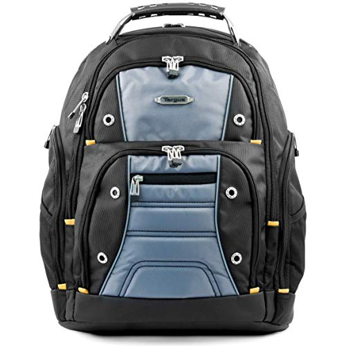Targus Drifter Backpack Designed for Travel and Commute Outdoor Use fits up to 15.6-Inch Laptop, Black/Grey (TSB238EU)