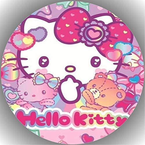 Decoración para tarta de cumpleaños de Hello Kitty K2