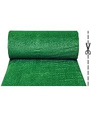 Olivo.Shop - Grass Green, Prato Sintetico da 7mm per Realizzare Giardini o campi da Calcetto. Manto erboso di Finta Erba Disponibile in Varie Misure.