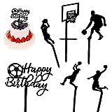 Gwolf Feliz cumpleaños Cake Topper Birthday Cake Topper Acrílico Personalizado Cake...