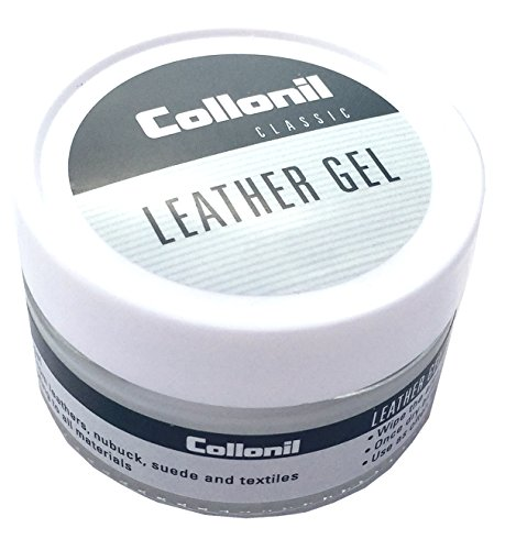 Collonil Leather Gel Classic Repels Dirt, Waterproofs, and Conditions All Designer Smooth Leather and Suede Clothes, Shoes, Handbags, and Furniture. Made in Germany. by Collonil