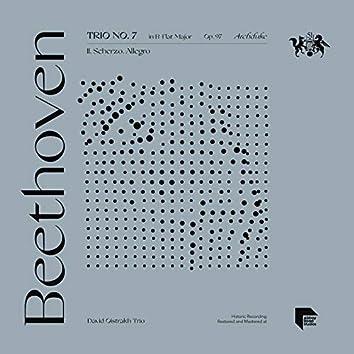 """Beethoven: Trio No. 7 in B-Flat Major, Op. 97 """"Archduke"""": II. Scherzo. Allegro"""