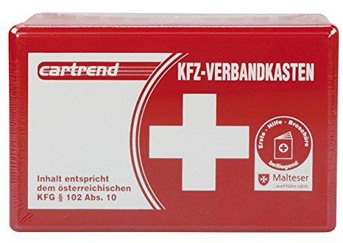 Cartrend 50209 KFZ-Verbandkasten Österreich, Inhalt Entspricht Österreichischem KFG 102 ABS 10