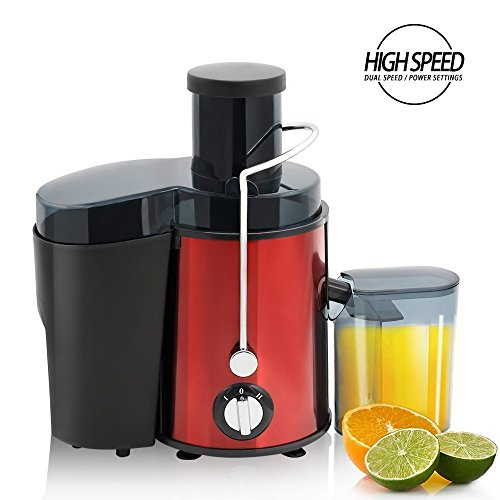 BuySevenSide Best juicer Extractor High speed for hard fruits and vegetables with Dual speed settings ensures the extraction of maximum fresh juice