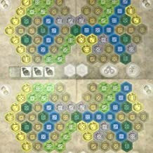 The Castles of Burgundy Board Game: 9th Expansion – The Team Game