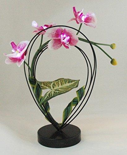 FEERIES ET MERVEILLES ORCHIDÉE Artificielle Rose A LED (HT 33 x 20 cm)