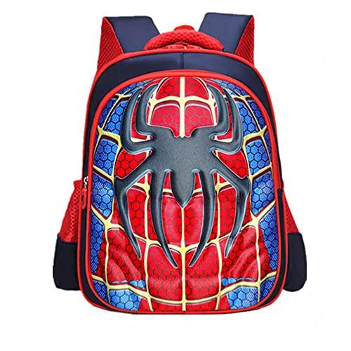 Student Schultasche, Kinderrucksäcke, Spider Man Rucksack Einstellbare Kindergarten Buch Taschen Grundschule Junge…