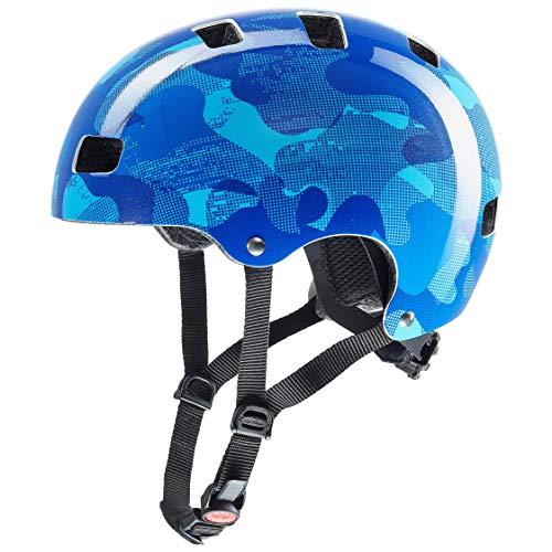 Uvex Jungen kid 3 Fahrradhelm, Blau, 55-58