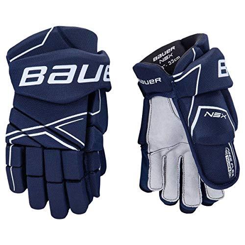 Bauer NSX Handschuhe Senior, Größe:14 Zoll, Farbe:Navy