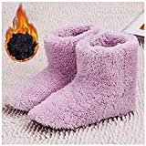YSHUAI Heated Slippers Women Rechargeable Washable, Warming...