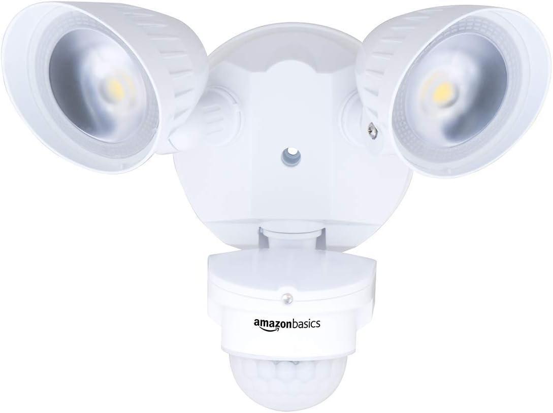 Department store Amazon Basics 40W Tucson Mall Waterproof LED Outdoor Motion Security Sensor