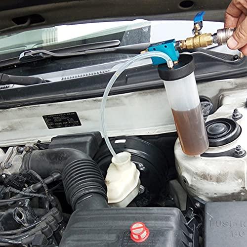 SJZERO Herramienta de reemplazo de Cambio de Aceite de líquido de Freno de automóvil automático Bomba de Aceite de Embrague hidráulico Purgador de líquido de Freno Kit de Drenaje de Intercambio vacío