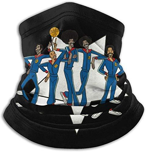 KEHUITONG Animated Harlem Globetrotters Ma-sk Unisex Mikrofaser Halswärmer Gesicht Ma-sk Hals Gamasche Gesicht Schal Sturmhaube Bandana