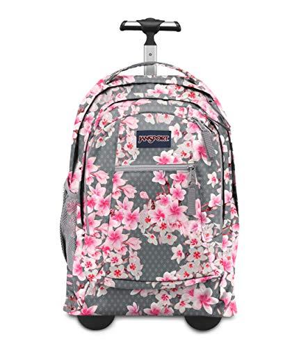 JanSport Travel Backpacks, DIAMOND PLUMERIA PINK, One Size