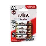 Fujitsu Alkaline Premium Power Batteries (AA Pack of 4)