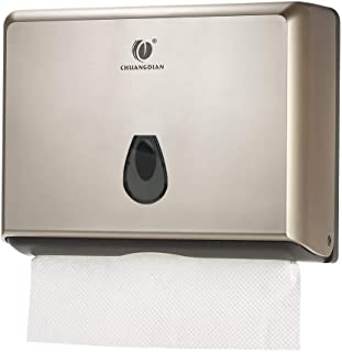 CHUANGDIAN Wall-Mounted Hand Paper Towel Dispenser for Bathroom, Office&Kitchen