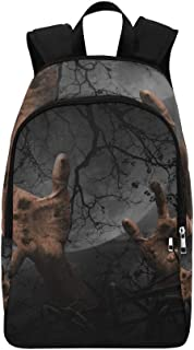 The Magic Forest is Frightening at Night Casual Daypack Travel Bag College School Backpack for Mens and Women