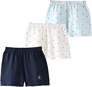 JanLEESi Baby Shorts Toddler Boys Slub Cotton Small Pants 3-Pack
