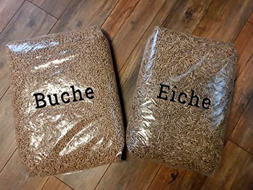 Naturbrennstoffe Kretschmann OHG Buchen & Eiche Pellets Mix-Palette: 960 kg in 64 Säcken inkl. Versand