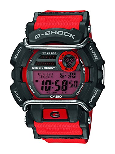 Casio Herren-Armbanduhr XL G-Shock Digital Quarz Resin GD-400-4ER