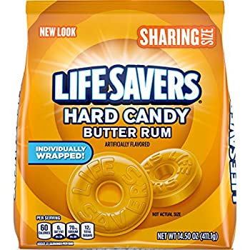 LIFE SAVERS Butter Rum Hard Candy 14.5-Ounce  Pack of 2