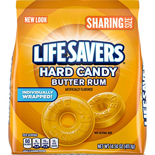 LIFE SAVERS Butter Rum Hard Candy, 14.5-Ounce (Pack of 2)