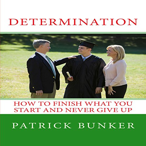 Determination audiobook cover art